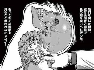 ケンガンアシュラ13巻 坂東洋平の関節