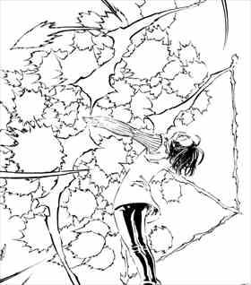 七つの大罪9巻 ゴウセル・神器双弓ハーリット