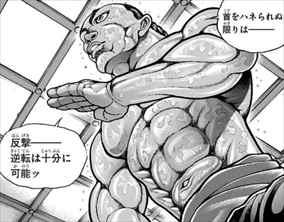 刃牙道8巻 烈海王3
