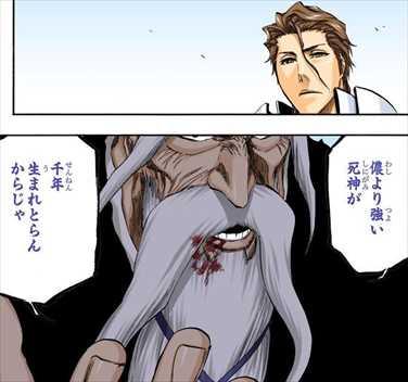 BLEACH45巻 山本元柳斎重國 名言