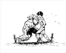 幽遊白書7巻酎戦