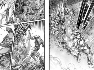 進撃の巨人19巻 バトル格闘描写
