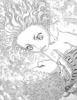 ベルセルク36巻 幻想的な描写 イスマという人魚