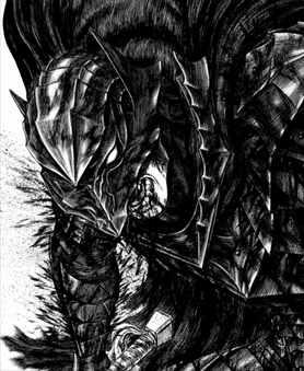 ベルセルク37巻 ガッツ 狂戦士の甲冑