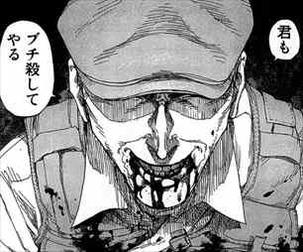 亜人3巻 佐藤が永井圭にブチギレ
