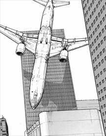 亜人4巻 飛行機テロ1