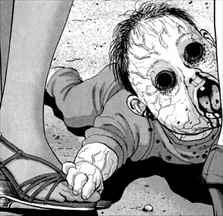 アイアムアヒーロー5巻 赤ちゃんのZQN