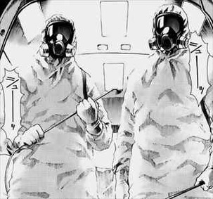 マンホール2巻防護服