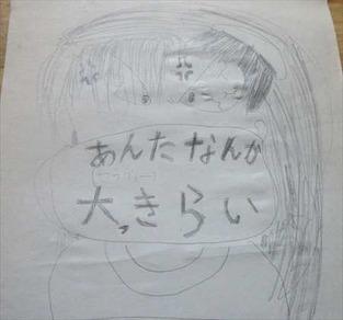 妹が昔描いていたマンガ
