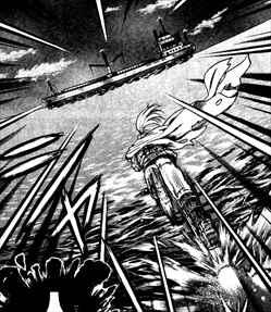 史上最強の弟子ケンイチ12巻風林寺隼人が海面を爆走