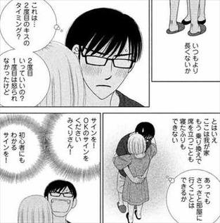 逃げるは恥だが役に立つ5巻 津崎平匡 キスのサイン