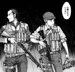 亜人2巻 佐藤の臨戦態勢