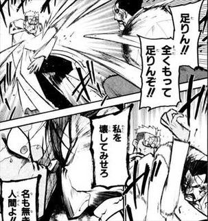 鋼の錬金術師25巻/スカーVSキング・ブラッドレイ