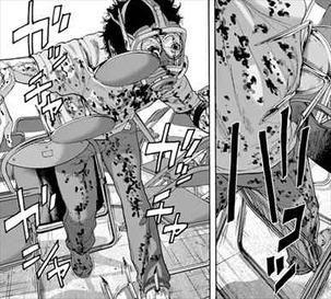 アイアムアヒーロー17巻 戦闘型ZQNに罠