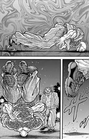 刃牙道11巻 本部以蔵 VS ジャックハンマー4