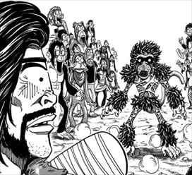 トリコ36巻 ゾンゲと猿王