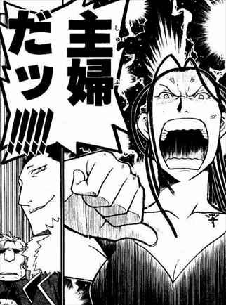 鋼の錬金術師7巻 イズミ・カーティス