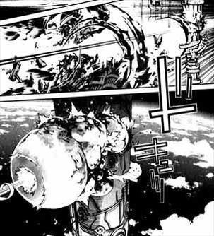 エアギア36巻宇宙でバトル