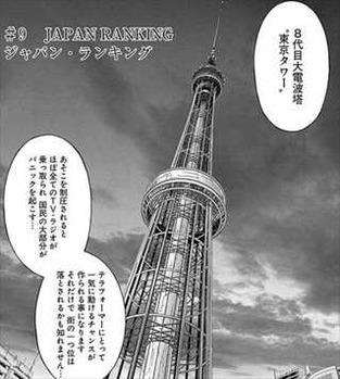 テラフォーマーズ18巻 8代目東京タワー