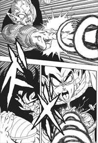 ドラゴンボール完全版14巻ラディッツに魔貫光殺砲