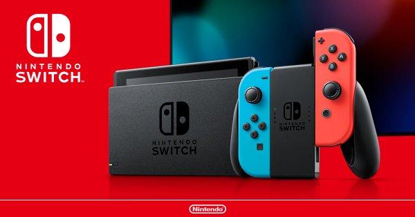 Switch新モデルを発表!!バッテリー持続時間が大幅に伸びる。2019年8月に発売
