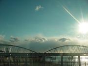 20110316十三大橋から