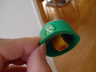 アスレチックス帽子