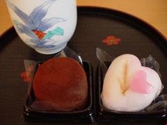 20100213ヴァレンタイン松葉屋和菓子