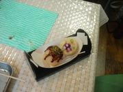20110723大阪旅めがね食品サンプル作り2