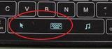 DN-80513キーボードタッチパッド切替ボタン