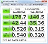 4台_RAID 0_USB3