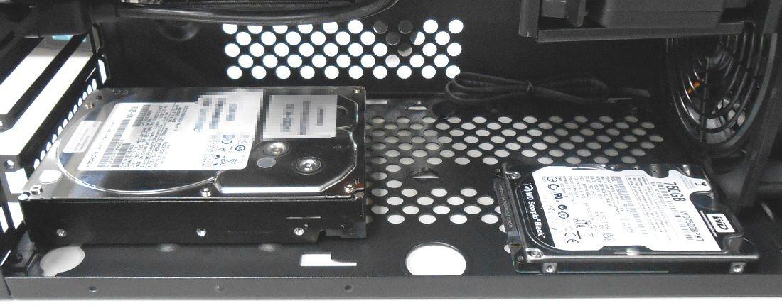 壁際HDD