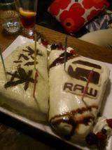 まりさん&まっちゃんケーキ