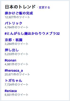 Twitterトレンド日本201805121820