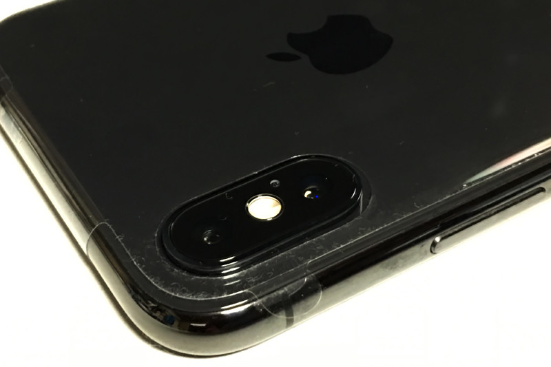 iPhone X back side