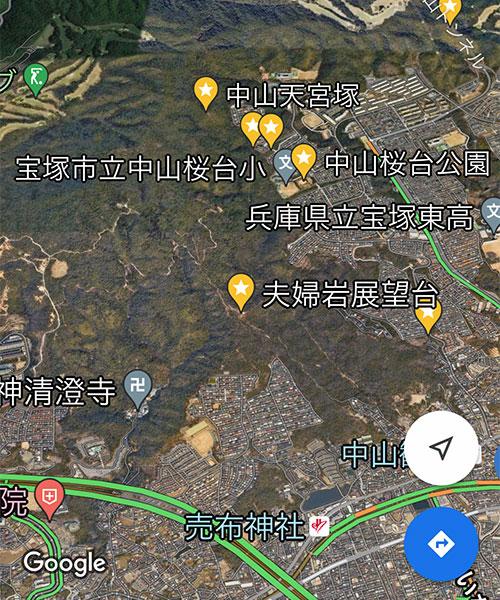 AppleMap01_Satelite3DGoogleMap