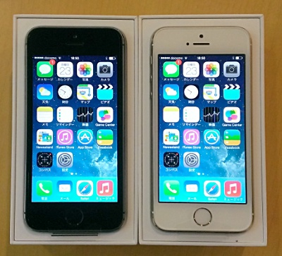 iPhone 5s 32GB GOLD & GRAY (2)