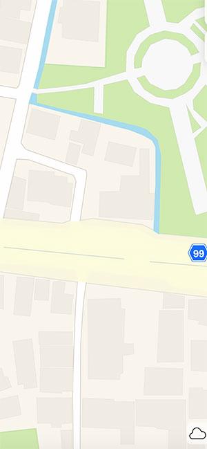 AppleMap13_BusStopAppleMap