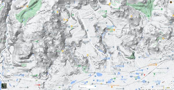 AppleMap23_Satelite3DGoogleMap3