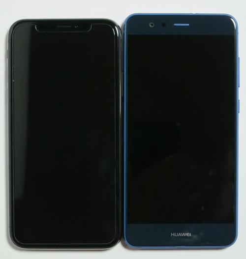 P10lite13iPhoneX