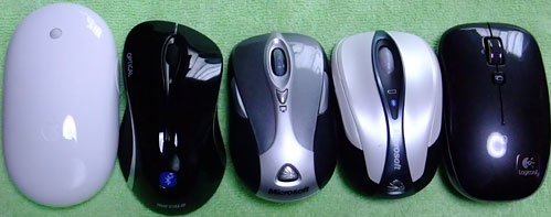 Bluetooth マウス5個 (1)