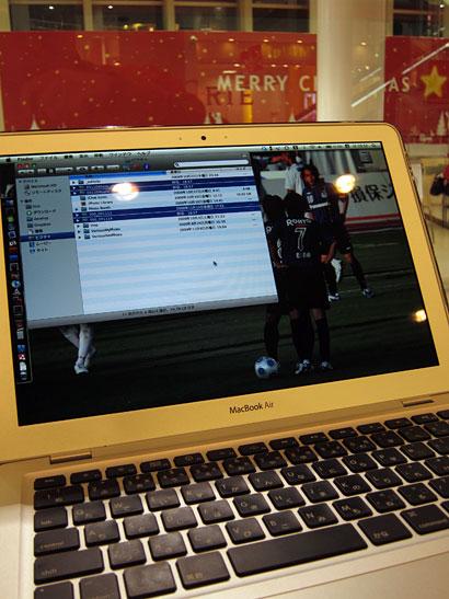 MacBookAir at Cafe 2