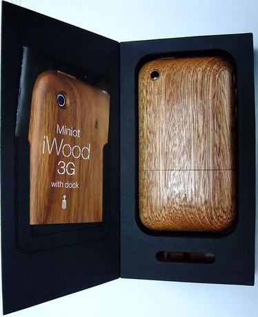 iPhone 用ケース iWood (1)