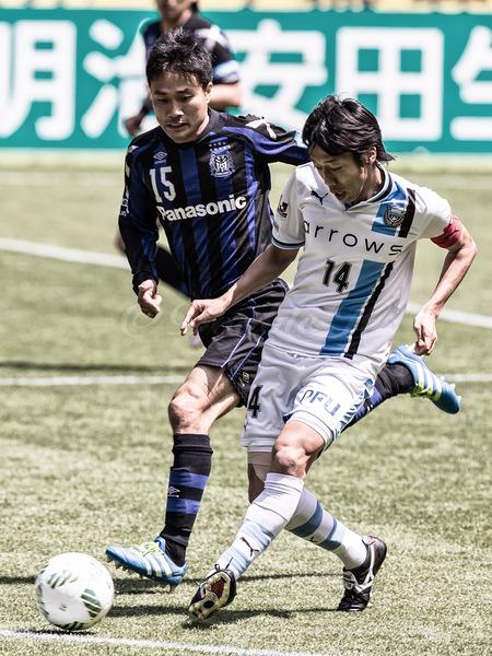 GambaOsaka vs KawasakiFrontale 20160429