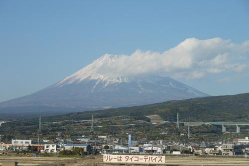 新幹線車中から富士山 by DMC-G1