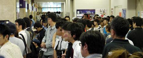 PC-NJ70A 大阪イベント開催前風景