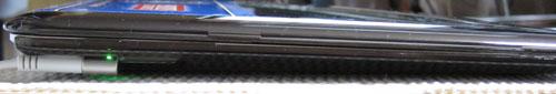 MacBook Air Side with SeeThru Hard Shell