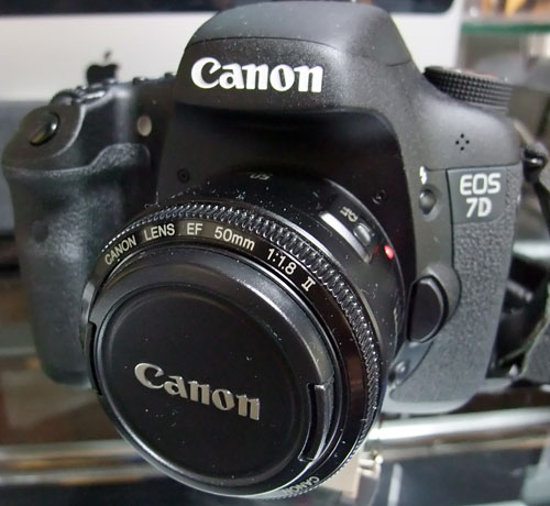 EOS7D with EF50mm F1.8II