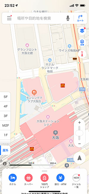AppleMap15_FloorsYahooMap