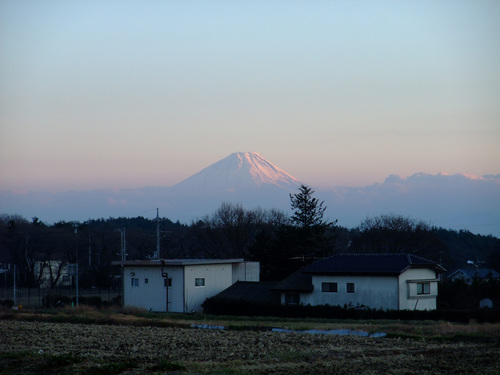 富士山 from 小淵沢 by FinePix F100fd